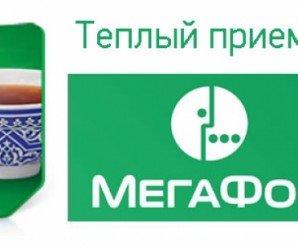 Звонки на Украинус Мегафона — Тариф Теплый прием